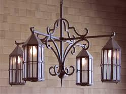 Wrought Iron Outdoor Chandelier Iron Chandeliers Steven Handelman Wrought Iron Designs