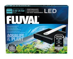 fluval led light 48 amazon com fluval nano aqua life and plant performance led l