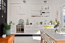 cuisine avec etagere étagère murale contemporaine pour cuisine a joyful nest