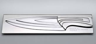 designer kitchen knives deglon meeting knives use fibonnaci sequence to plot their design
