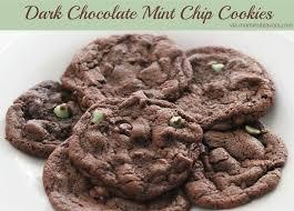 dark chocolate mint chip cookies jpg