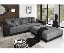 sofa schwarz wohnlandschaft caramba xxl wohnlandschaft echt leder schonheit