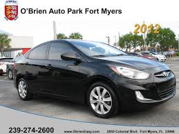 2012 hyundai accent gls for sale used 2012 hyundai accent for sale fort myers fl