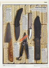 outside magazine recently chose a selection of best knives