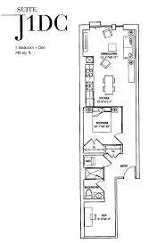 floor plans toronto the jack condos 2 jack ave rosedale toronto 1 bedroom den floor