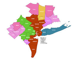 Map Of New York City Area by New York Metropolitan Area Counties 2013 New York Metropolitan
