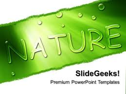 go green powerpoint themes
