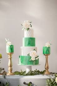wedding cake greenery glamorous greenery wedding inspiration the magazine