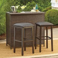Durable Patio Furniture Sturdy Wicker Patio Furniture Safieh Carrissa Outdoor Wicker Bar