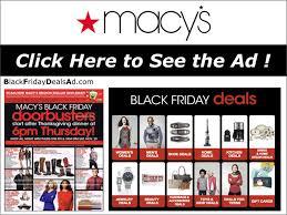 macy s 2018 black friday deals ad black friday 2018