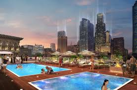 Apartments Downtown La by Renderings Revealed For New Rooftop Scene In Downtown La