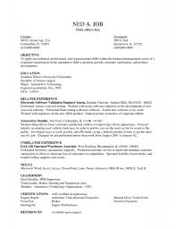 Resume Objectives Examples by Warehouse Associate Resume Objective Examples Resume For Your