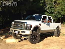 2009 ford f250 lifted 2009 ford f 250 duty fuel boost suspension lift 4in