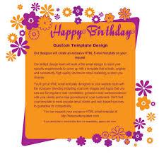 happy birthday free html e mail templates