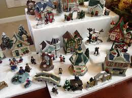 vintage u201d christmas village dollar store craft a moment of being