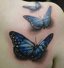 collection of 25 butterfly on whole back