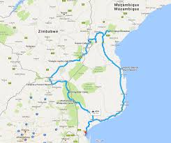 National Parks Road Trip Map 100 South Africa Kruger National Park Map Zambezi National