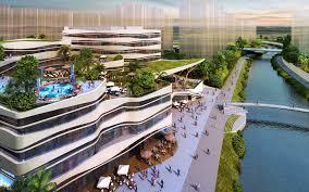A WATERFRONT MUNITY PUNGGOL NC & POLYCLINIC SAA Architects