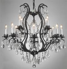 All Crystal Chandelier A46 B2 385 5 Murano Venetian Style All Crystal Chandelier With