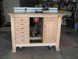 Router Cabinet by Krieger U0027s Router Table Project
