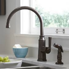 high arch kitchen faucet the fixture gallery american standard portsmouth high arc