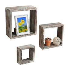 Square Floating Shelves by Top 15 Floating Wooden Square Wall Shelves To Buy Online