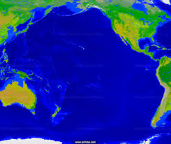 Map Of Pacific Primap Marine Charts