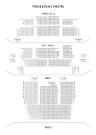prince edward theatre seat plan for aladdin