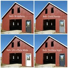 barn windows and doors and your opinions on door colors