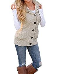 womens sweater vest amazon com beige vests sweaters clothing shoes jewelry