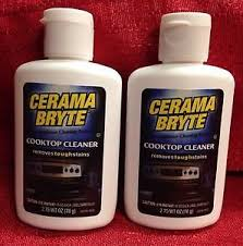 Cerama Bryte Cooktop Cleaner How To Clean Glass Stove Tops Ebay