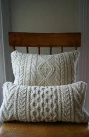 Knit Cushion Cover Pattern Bedroom Nice Breathtaking Cable Knit Bedding With Luxury Design