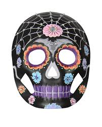 day of the dead masks day of the dead mask floral with rhinestones intricately
