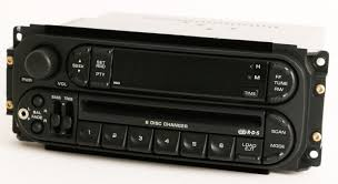 chrysler 2002 to 07 rbq am fm 6 disc cd player radio upgraded