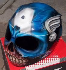 airbrushed motocross helmets bali devil demon custom airbrush painted dot helmet u2013 custom