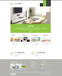 website template 45267 smart home interior custom website