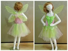 2017 tinkerbell costume halloween kids dress wing