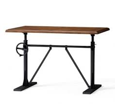 pittsburgh crank sit stand desk pittsburgh crank standing desk pottery barn with regard to stylish