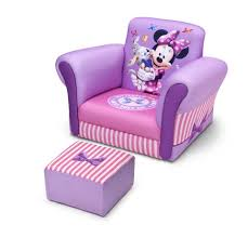 Doc Mcstuffins Sofa by Upholstered Chair With Ottoman Disney Minnie Mouse Delta
