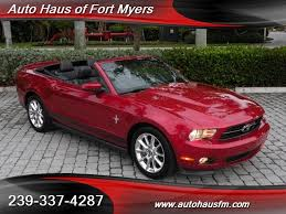 2011 ford mustang for sale 2011 ford mustang v6 premium convertible pony package for sale in