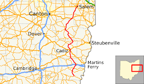 Canton Ohio Map by Ohio State Route 9 Wikipedia