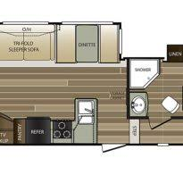 Cougar 5th Wheel Floor Plans 2017 Jayco Eagle Fifth Wheel Travel Trailer Rv Centre 5th Wheel