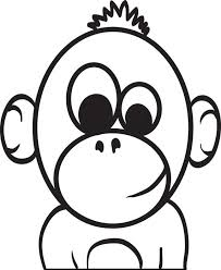 cute baby monkey coloring pages baby monkey coloring pages printable ecordura com