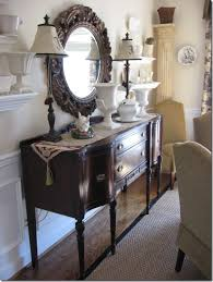 beautiful dining room buffet table decor in interior design for