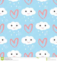 raindrops clipart smiling cloud pencil and in color raindrops