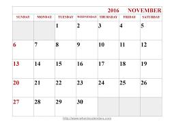 november and december 2015 word calendar printable calendar