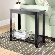 small narrow side table narrow side table wayfair