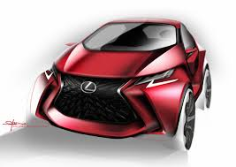 how to draw a car designing the lexus lf sa lexus