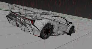 lamborghini veneno sketch making of lamborghini veneno hum3d blog