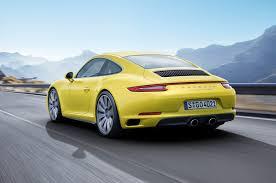 porsche 911 price usa 2017 porsche 911 4 4s models get turbo engine motor